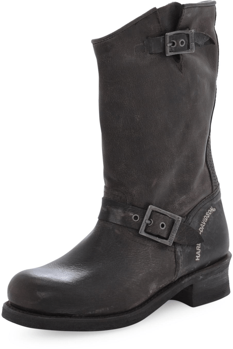 Harley Davidson - 422 Boot Dark Brown Waxed Lthr