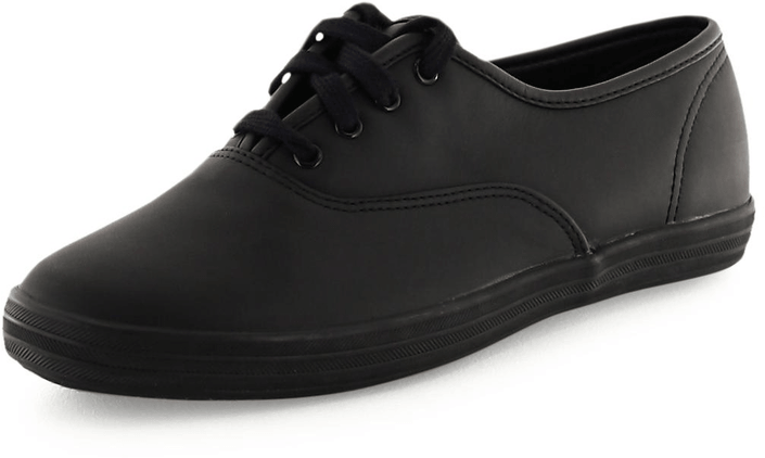 Keds - Champion CVO Black Leather