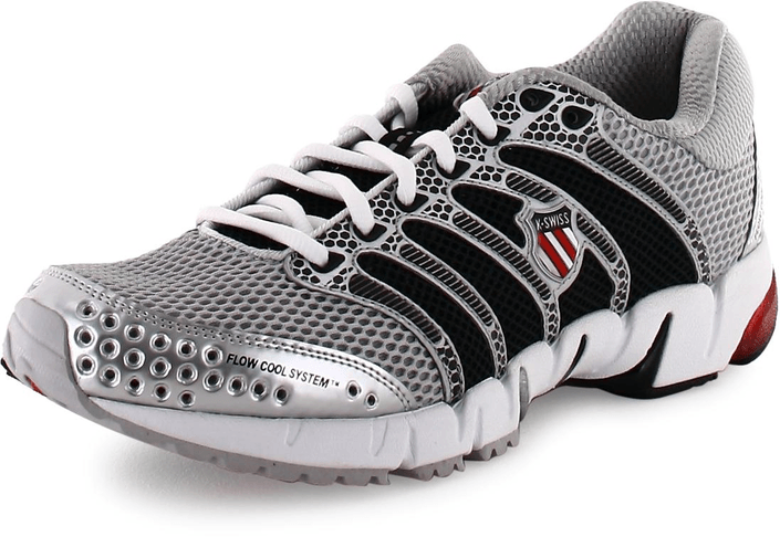 K-Swiss - K-Ona C Silver/Black/True Red