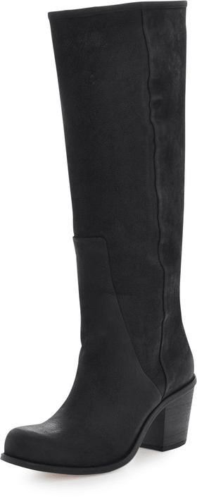 V Ave Shoe Repair - V Notch Boot Black