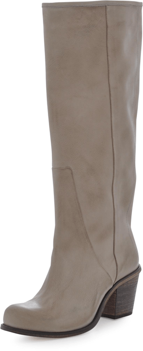 V Ave Shoe Repair - V Notch Boot Beige