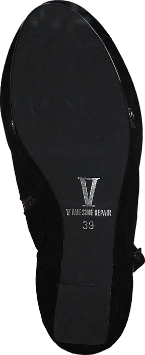 V Ave Shoe Repair - Plate Shoe Black