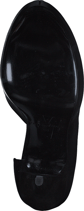 V Ave Shoe Repair - Metal Highs Black