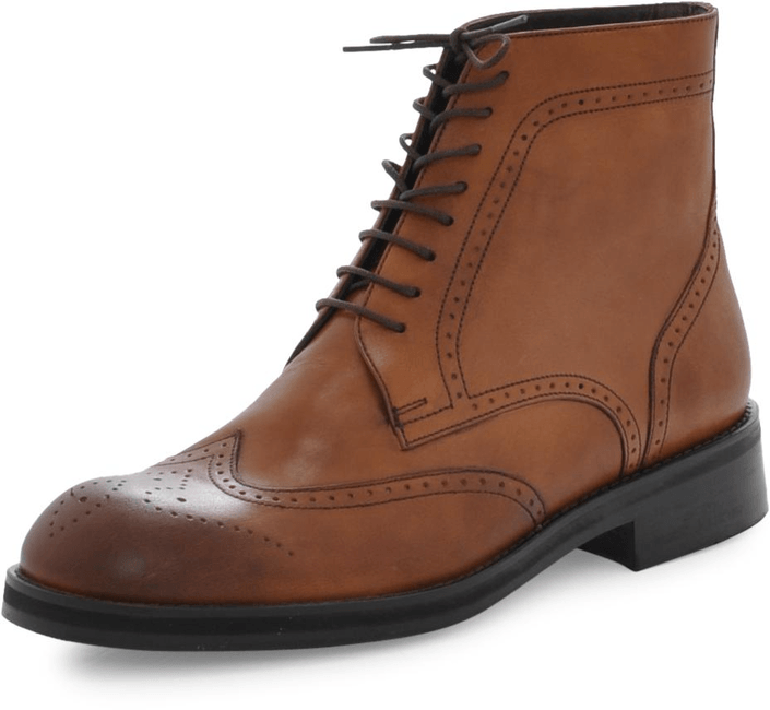Hope Brock Boot Brown Brogue