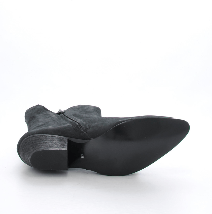Black Lily - Rocker Ancle Boot Black