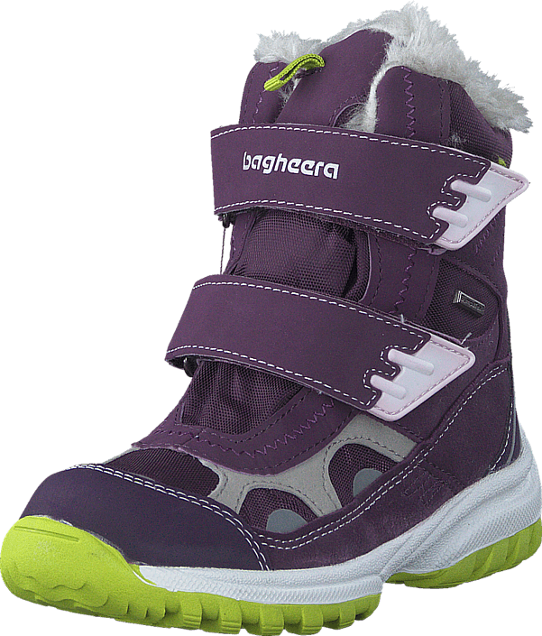 Bagheera - Lynx Purple/Neon Yellow