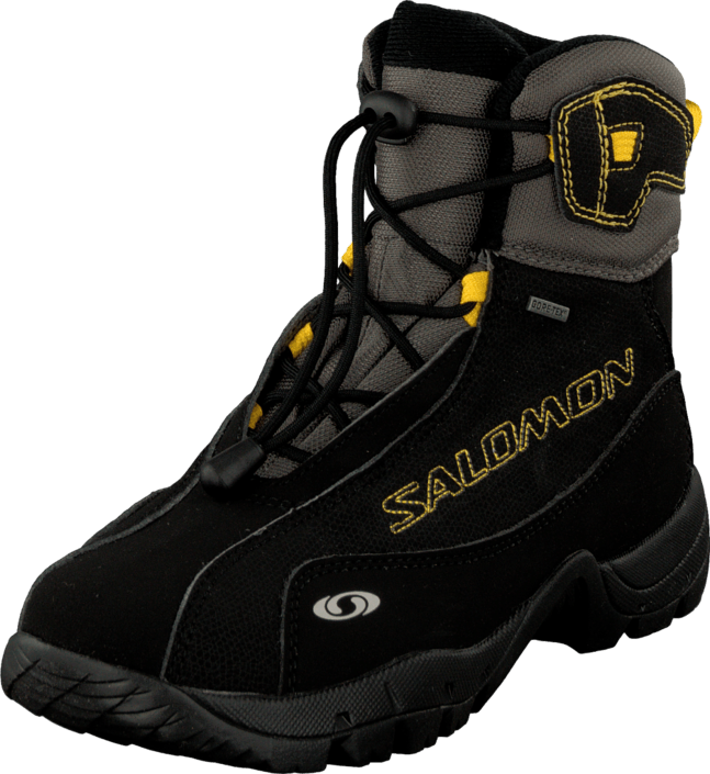 Salomon - B4 K Graphic GTX Black/Autobahn/Bee-X