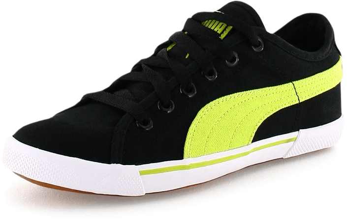 Puma - Benecio Canvas JR Blk/Lime