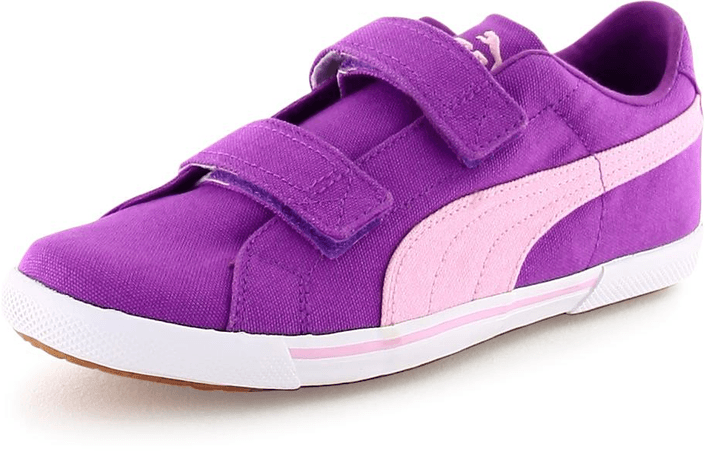 Puma - Benecio Canvas V Kids Dewberry