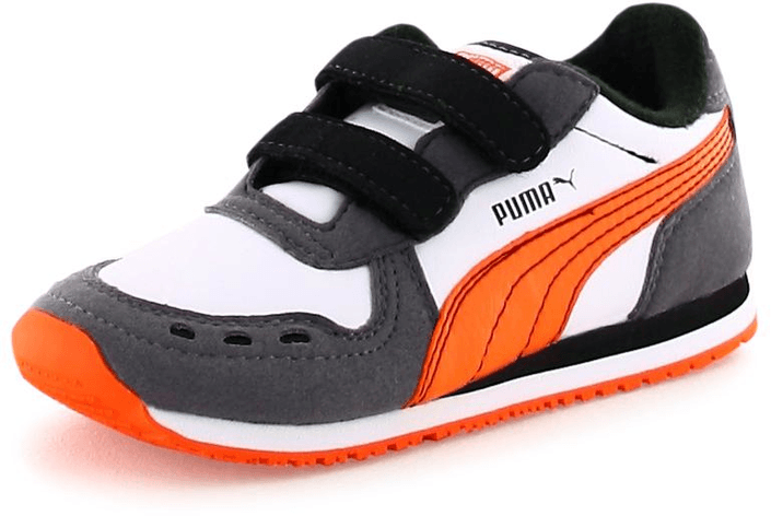 Puma - Cabana Racer SL V Kids Wht/Orange