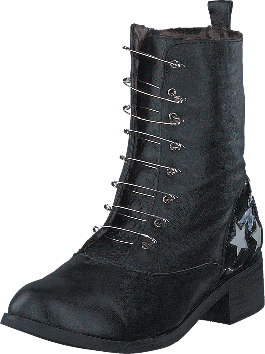 fashion-by-c-boot-with-saftynail-black-kengaet-bootsit-korkeavartiset-bootsit-musta-naiset-35