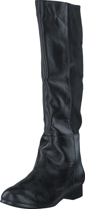 Fashion By C - Classic boot lea./suede Black