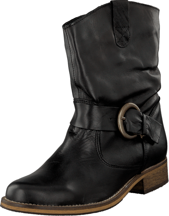 Duffy in Leather 52-04100-01 Black