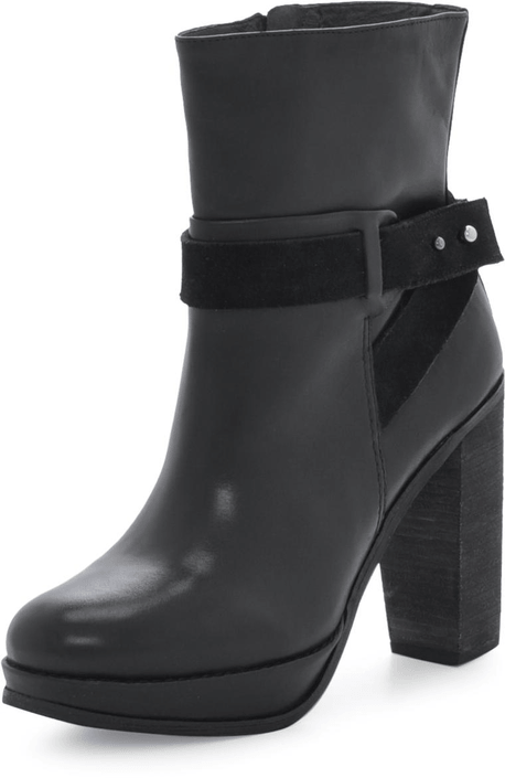 Marc O'Polo - High Heel medium Boot Natural Calf