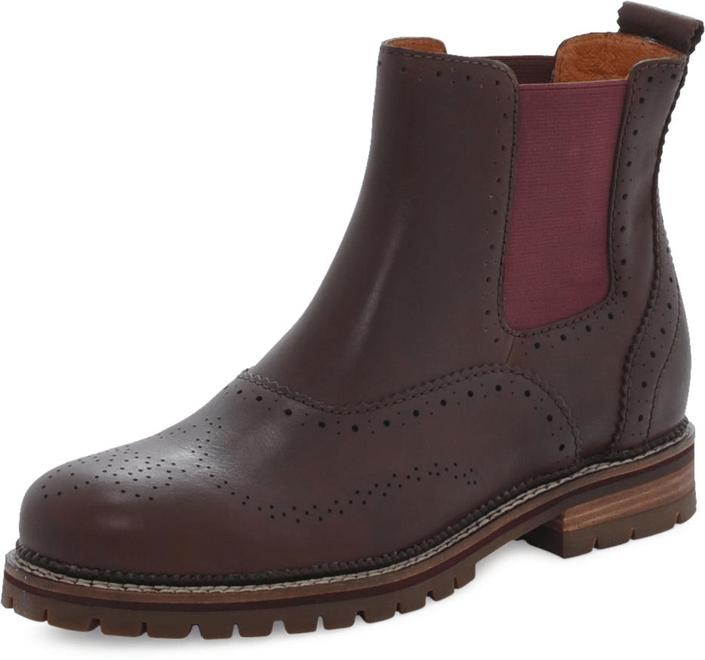 k p marc o 39 polo flat heel chelsea nat natural cow bruna shoes. Black Bedroom Furniture Sets. Home Design Ideas