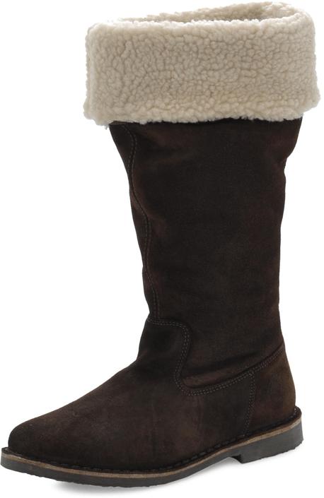 Marc O'Polo - Flat Heel Long Boot Calf Suede