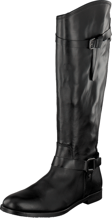Marc O'Polo - Flat Heel Long Boot 990 Black