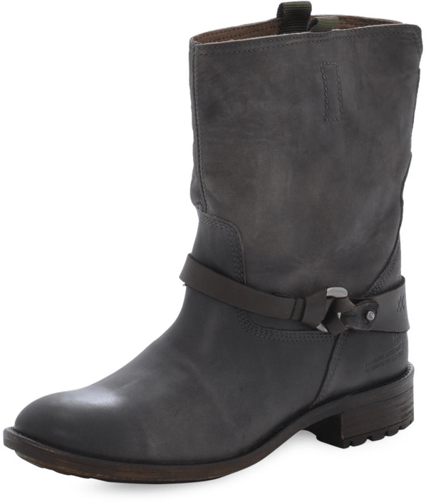 Mexx - Denise 2 Cow Lthr Boots Dark Brown