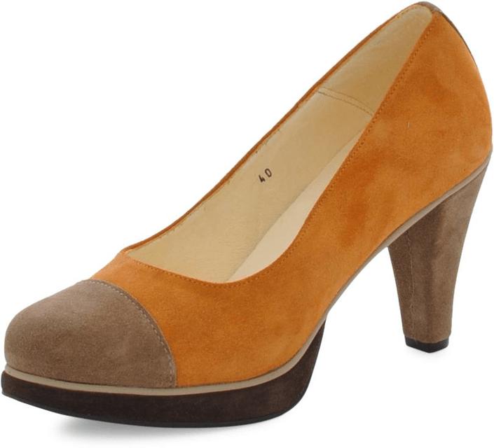 Norrback Pia pumps Orange , brown
