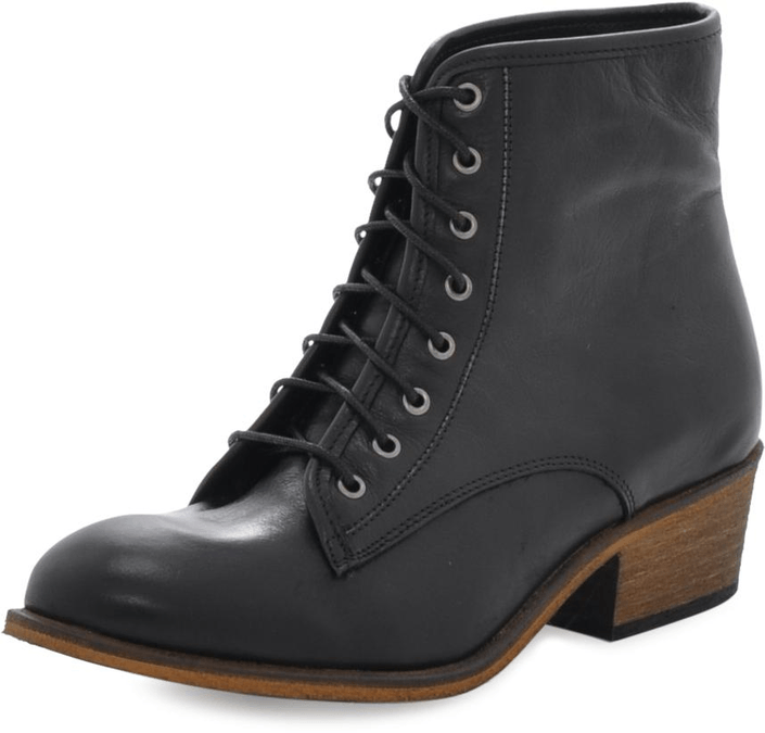 Shoe Biz - Short Boot Black B Black