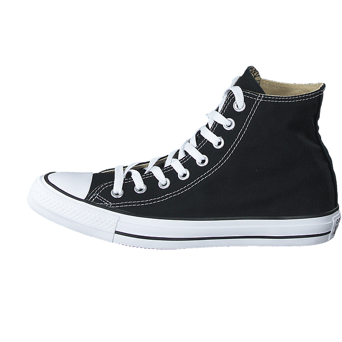 Converse - Chuck Taylor All Star Hi Canvas Black. 3D