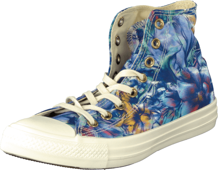 Converse Chuck Taylor All Star Hi Seasonal Print Flower