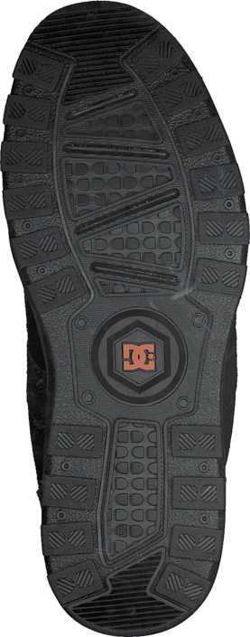 DC Shoes - Woodland Shoe Black/Orange