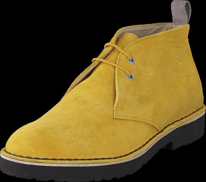hush-puppies-quadro-yellow-kengaet-bootsit-chukka-boots-keltainen-miehet-42