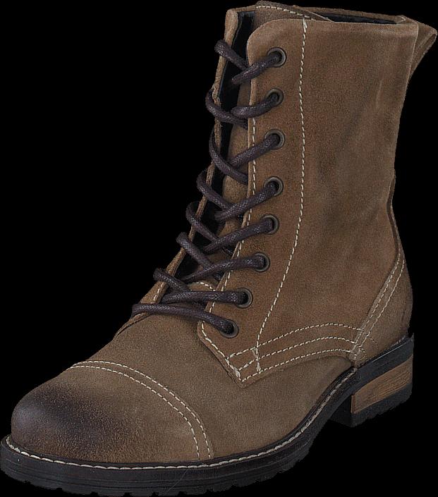 belmondo-828501n-noce-beige-kengaet-bootsit-korkeavartiset-bootsit-ruskea-naiset-36