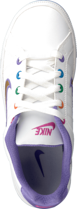 Nike - Court Tradition 2 Plus (GS) White-Mtllcg