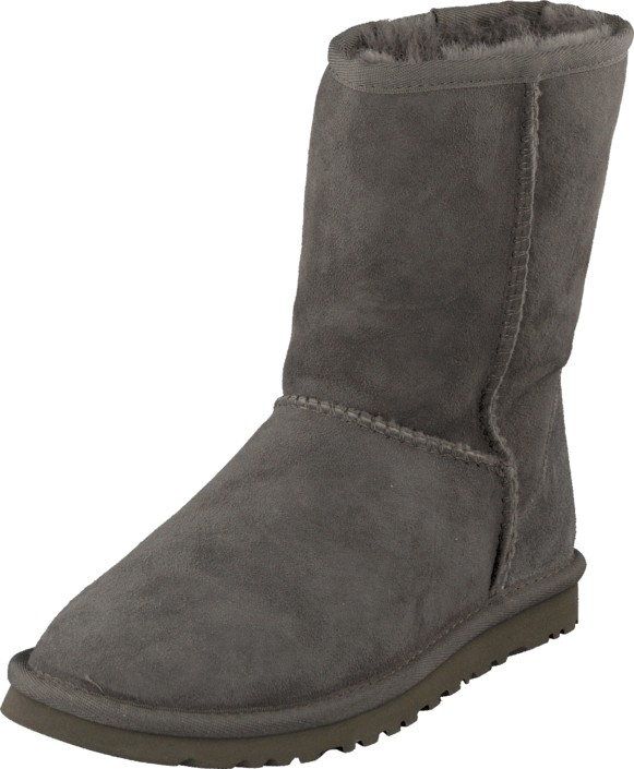 UGG - Classic Short W´s Grey