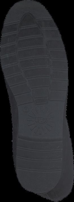 k246p ugg australia wilshire logo short black gr229a skor