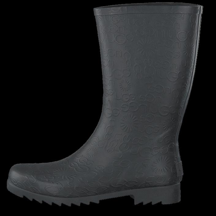k248b ugg wilshire logo short black gr229a sko online footwaydk