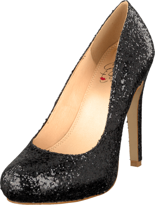 China Girl - Sparkley Black