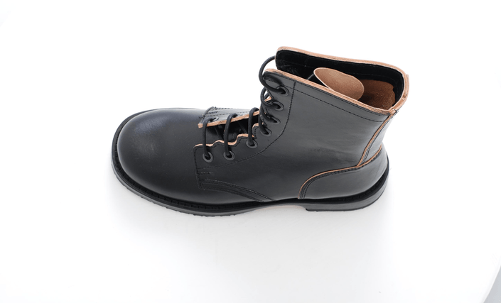 Swedish Hasbeens - Military Boot Black