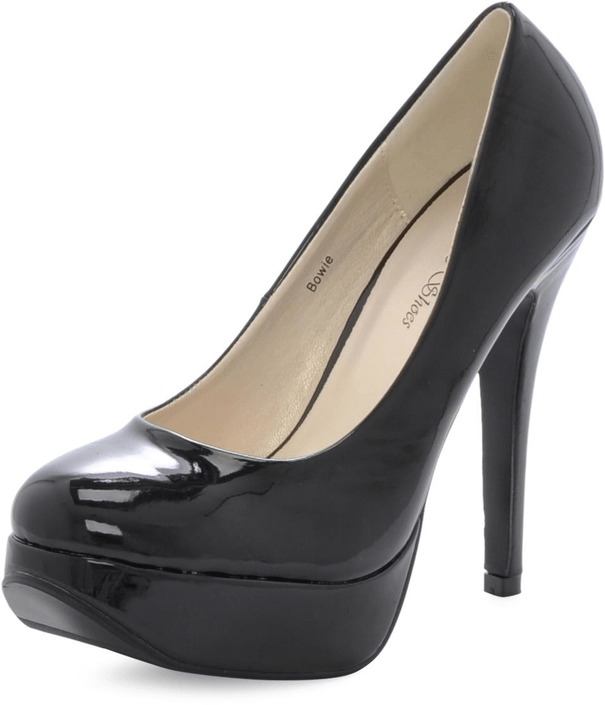 Sugarfree Shoes - Bowie Black/Patent