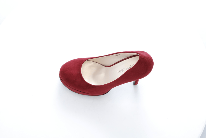 Sugarfree Shoes - Bowie Dark Red / Suede