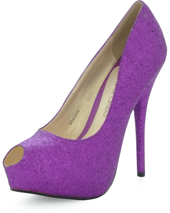 Sugarfree Shoes - Malina Purple