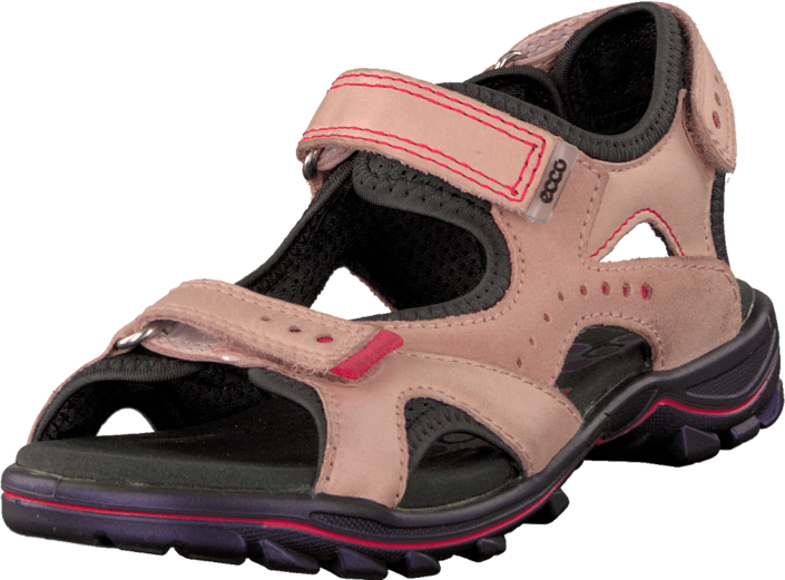 Ecco - Urban Safari Kids Silver Pink/Dark Shadow