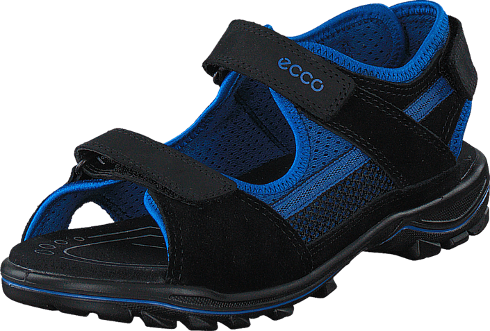 Ecco - Urban Safari Kids Black/ Bermuda Blue