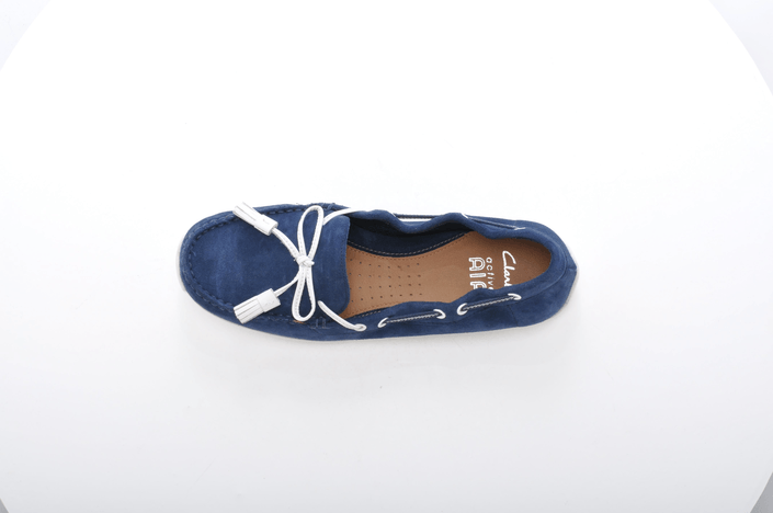 Clarks - Hammond Buzz Navy Suede