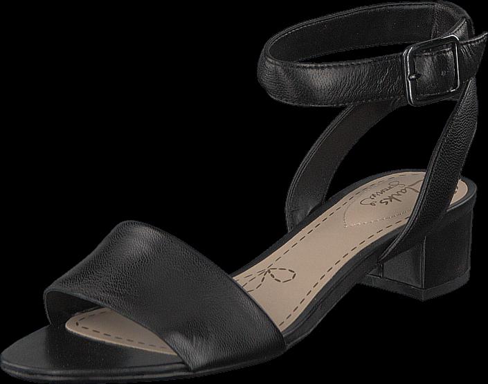 Clarks - Sharna Balcony Black Leather