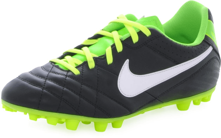 Nike - Jr Tiempo Natural IV LTR AG BLACK-WHITE