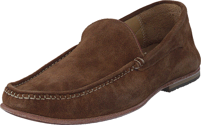 Knowledge Cotton Apparel - Slipper Moccasin Buckthorn Brown