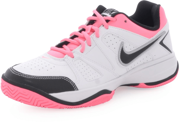 Nike - Wmns City Court VII WHITE-BLACK