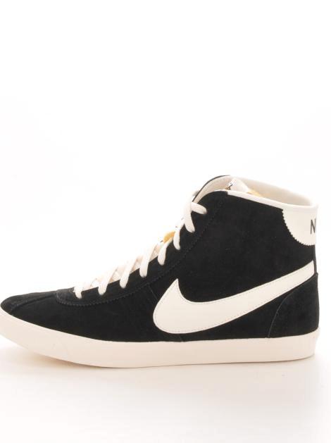 factory price d14fa aa9b4 Köp Nike Wmns Bruin Lite Mid Black-Sail Svart Skor Online   FOOTWAY.se