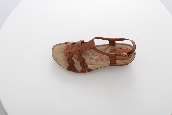 Hush Puppies - MALTA QTR STRAP TAN