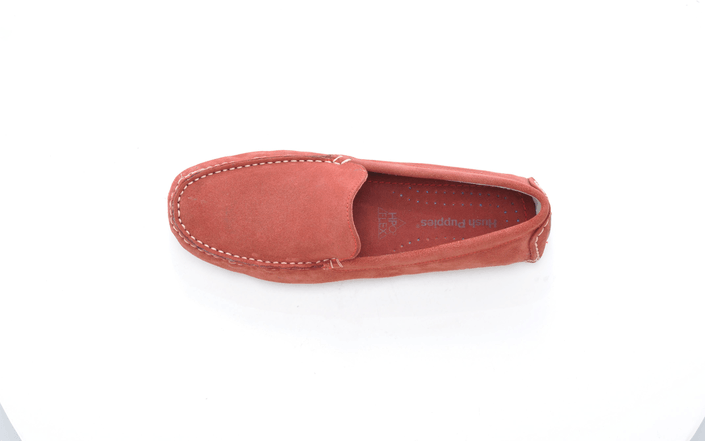 Hush Puppies - MONACO SLIP ON MT RED
