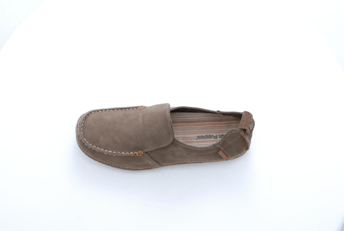 Hush Puppies - PROFILE SLIP ON DARK TAUPE