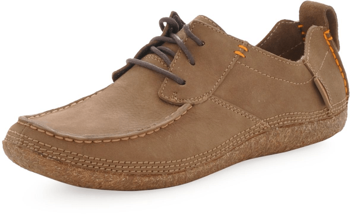 Hush Puppies - PROFILE WALLABY DARK TAUPE
